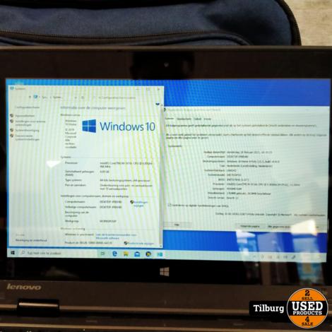 Lenovo Thinkpad Yoga 11e + Oplader en Draadloze Muis + Laptoptas || Incl. Garantie
