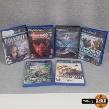 PS2 SHOOTER BUNDEL!!! 6 Games 1 Prijs!