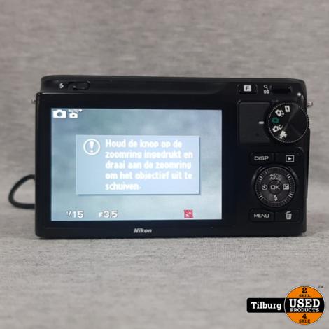 Nikon 1 J2 10,1 MegaPixel met Verwisselbare Lens 10-30MM. In Doos || Incl. Garantie