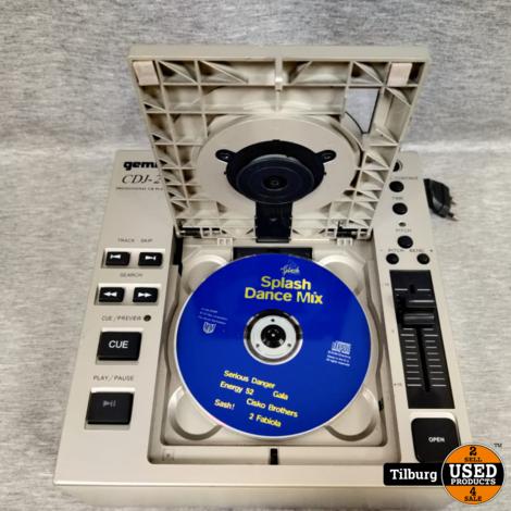 Gemini CDJ-20 DJ-CD-speler    Incl. Garantie
