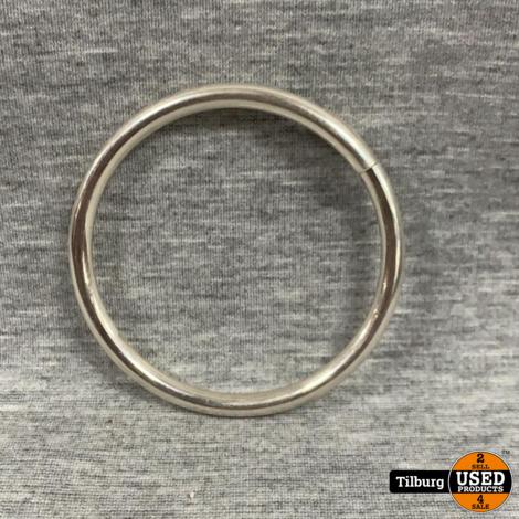 Zilveren Harde Ronde Armband 14,3 Gram