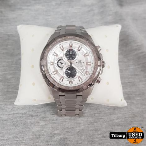 Casio Edifice EF539D Heren Horloge  ZGAN in Doos     Incl. Garantie