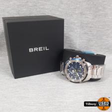 Breil Breil Ground Edge Chrono Blue TW1429B ZGAN in Doos    Incl. garantie