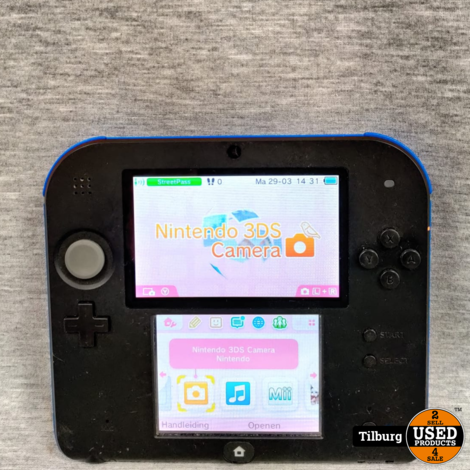Nintendo 2DS Incl. kabel
