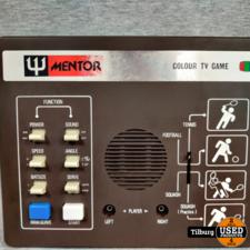 Mentor Color Game Computer Met 2 controllers in Doos || Incl. garantie