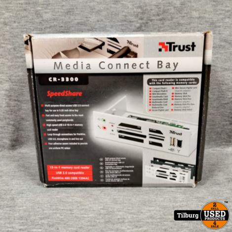 Trust Media Connect Bay CR-3300 ZGAN in doos