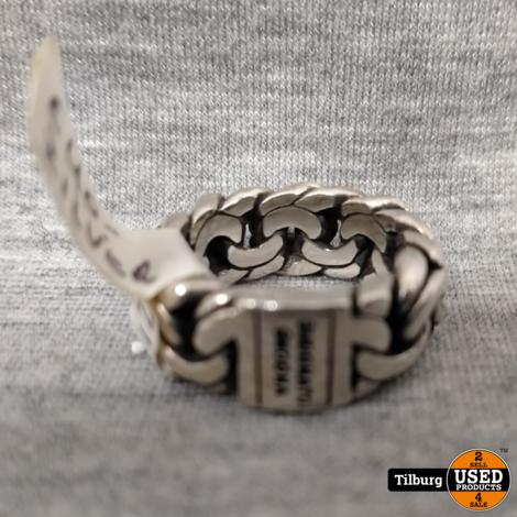 Buddha to Buddha Zilveren Ring Maat 17 12,3GR