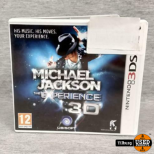 Nintendo 3DS Michael Jackson the experience