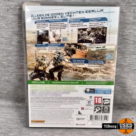 Xbox 360 Ghost Recon Future Soldier || Incl. Garantie
