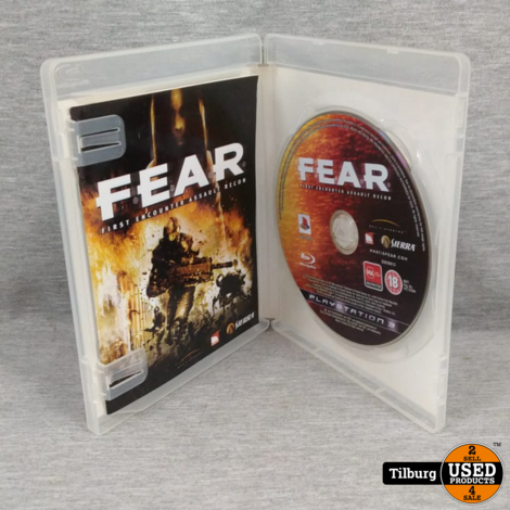 Sony Playstation 3 Fear First Encounter Assault Recon