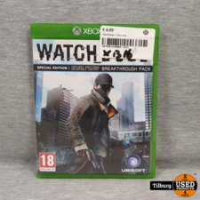 Xbox One Watch Dogs Special Edition || Incl. Garantie