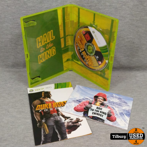 Xbox 360 Duke Nukem For Ever || Incl. Garantie