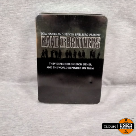 DVD Box Band of Brothers Steel Box 6 Disc