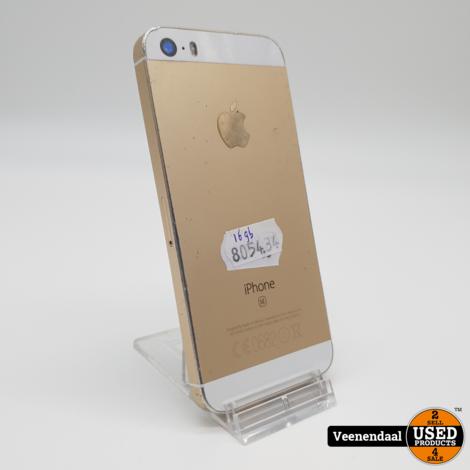 iPhone SE 32GB Gold - In Prima Staat
