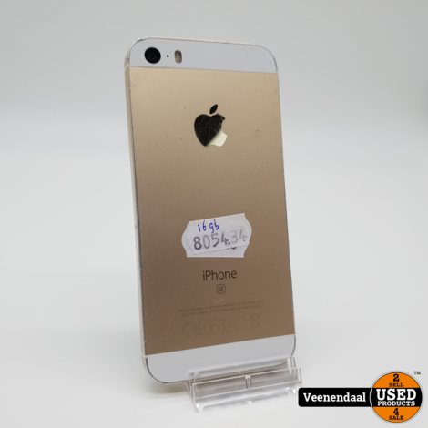 iPhone SE 16GB Gold - In Goede Staat