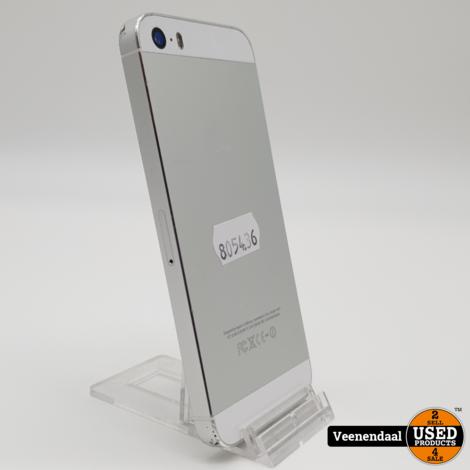 Apple iPhone 5S 16GB Zilver - In Goede Staat