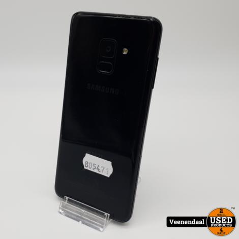 Samsung Galaxy A8 2018 32GB Zwart - In Prima Staat