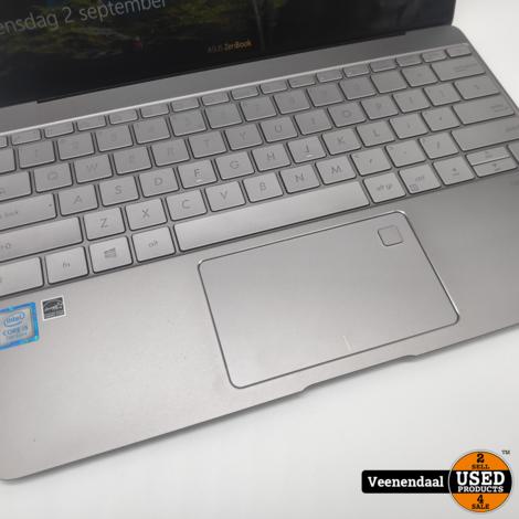 Asus UX390U Zenbook i5-7200U 256GB SSD 8GB Garantie t/m 02-03-2022 - In Nieuw Staat