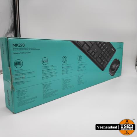 Logitech MK270 Toetsenbord - Nieuw