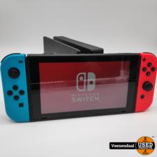 nintendo switch Nintendo Switch 2019 Model Neon Rood/ Blauw - In Goede Staat