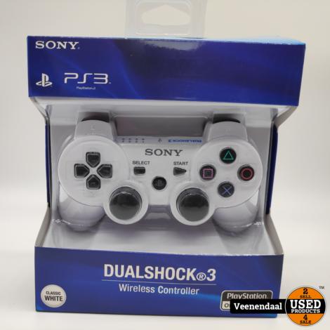 Sony Dualshock 3 Wireless Controller Wit - Nieuw