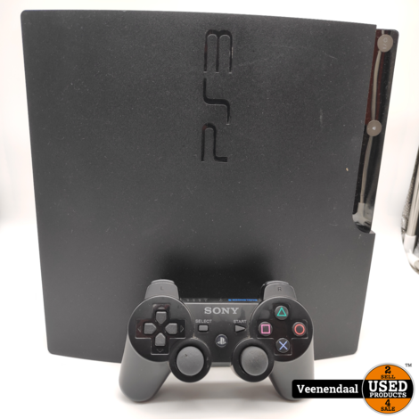 Sony PlayStation 3 160GB Zwart Slim - In Prima Staat