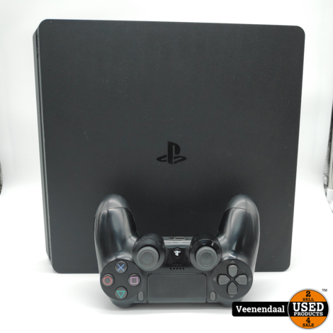 Sony PlayStation 4 Slim 1TB Zwart - In Prima Staat
