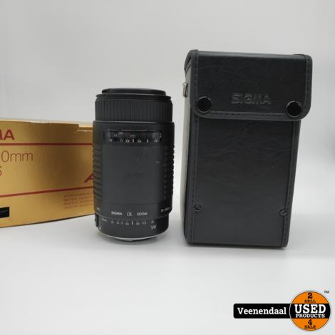 Sigma 75-300mm F4-5.6DL Lens Analoog - In Goede Staat