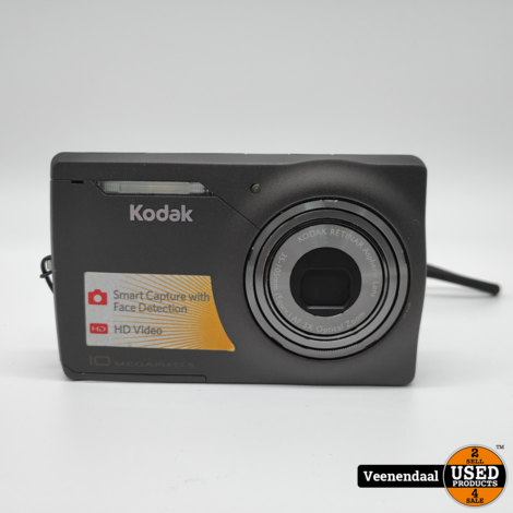 Kodak Retinar Digitale Camera 10 Megapixel Zwart - In Prima Staat