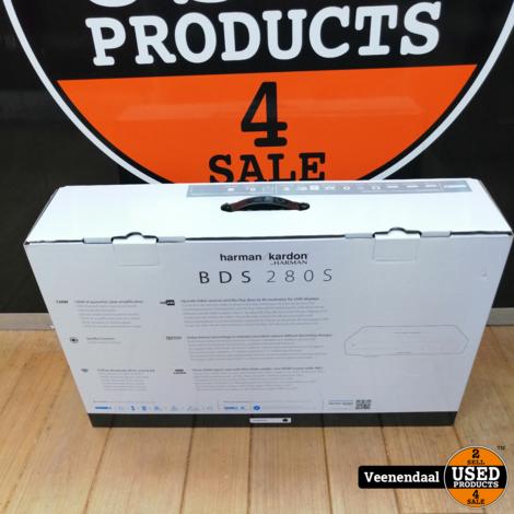 Harman Kardon BDS 280S 2.1 AV- Receiver Met 4K Blu-Ray Speler Nieuw!