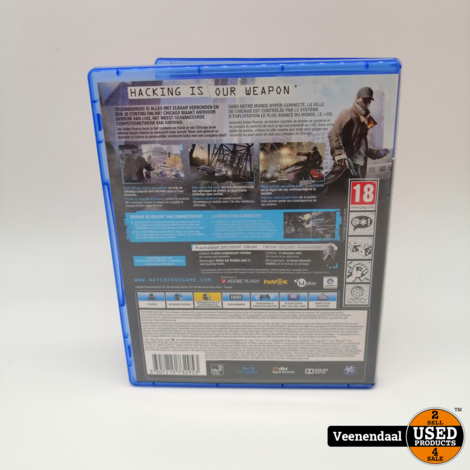 Watch dogs PS4 Game - In Goede Staat