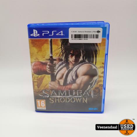 Samurai Shodown PS4 Game - In Goede Staat