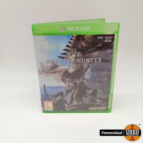 Monster Hunter World Microsoft Xbox One Game - In Prima Staat
