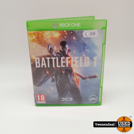 Battlefield 1 Xbox One Game - In Goede Staat