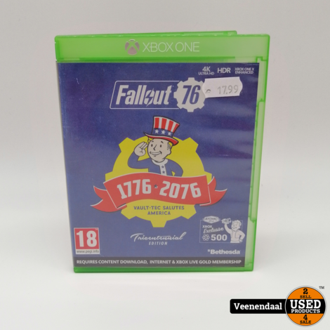 Fallout 76 Tricentennial Edition Microsoft Xbox One Game - In Prima Staat
