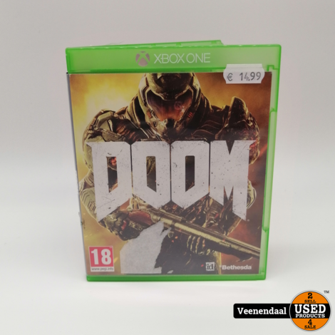Doom Microsoft Xbox One Game - In Prima Staat