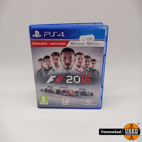 F1 2016 PS4 Game - In Goede Staat