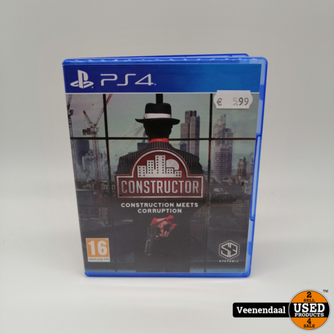 Constructor PS4 Game - In Goede Staat