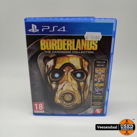 Borderlands The Handsome Collection PS4 Game - In Prima Staat