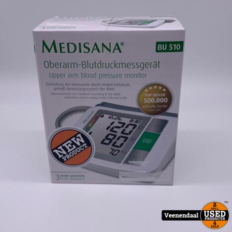 Medisana BU510 Bovenarm Bloeddrukmeter - Nieuw