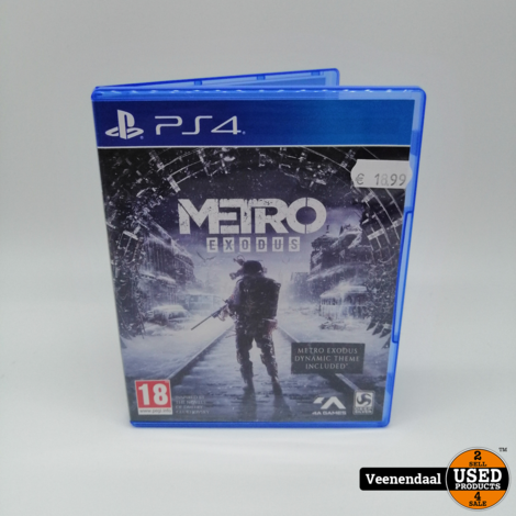 Metro Exodus PlayStation 4 Game - In Prima Staat