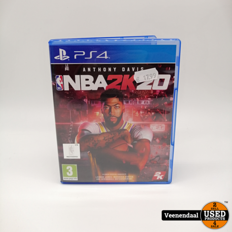 NBA2K20 PS4 Game - In Goede Staat