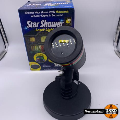 Star Shower Laser Light - Nieuw