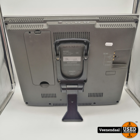 Sharp LC-20S1E Televisie Zilver - In Goede Staat