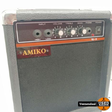 Amiko tg-5 Versterker - in Prima Staat