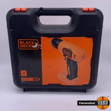 Black & Decker Black & Decker BDCD8K Accu Boormachine 7,2V - NIEUW