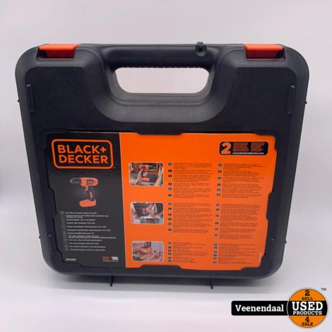 Black & Decker BDCD8K Accu Boormachine 7,2V - NIEUW