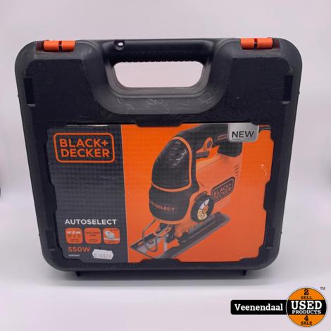 Black & Decker KS801SEK Decoupeerzaag 550W - In Prima Staat