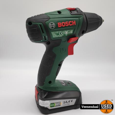 Bosch PSR 14,4 LI-2 Accuboormachine - 2 Accu's- In Nette Staat