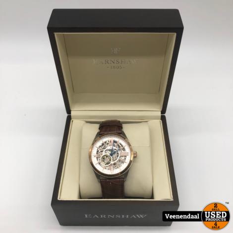 Earnshaw ES-8037-04 Heren Horloge Automatic - In Uitstekende Staat
